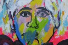 Portrait of Andy Warhol 2009