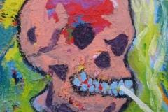 Smoking Skull (after Vincent)   2013